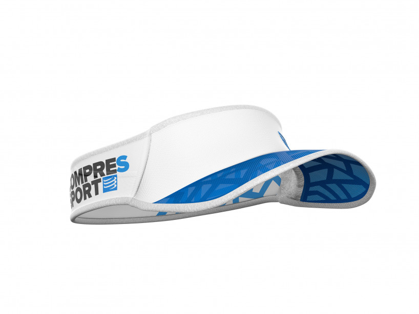 Visera Spiderweb Ultralight blanco/azul