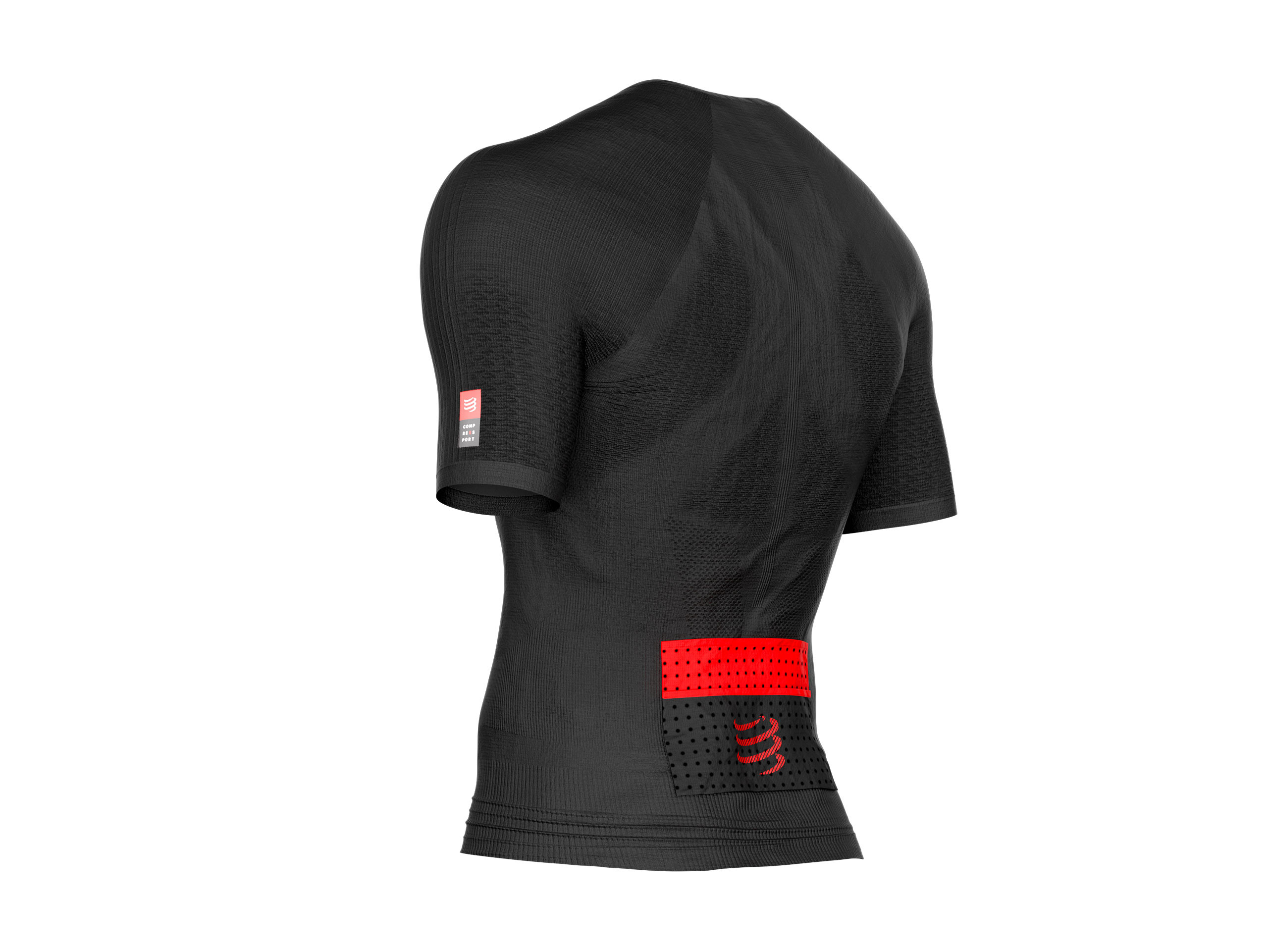 Trail Running Postural SS Top schwarz
