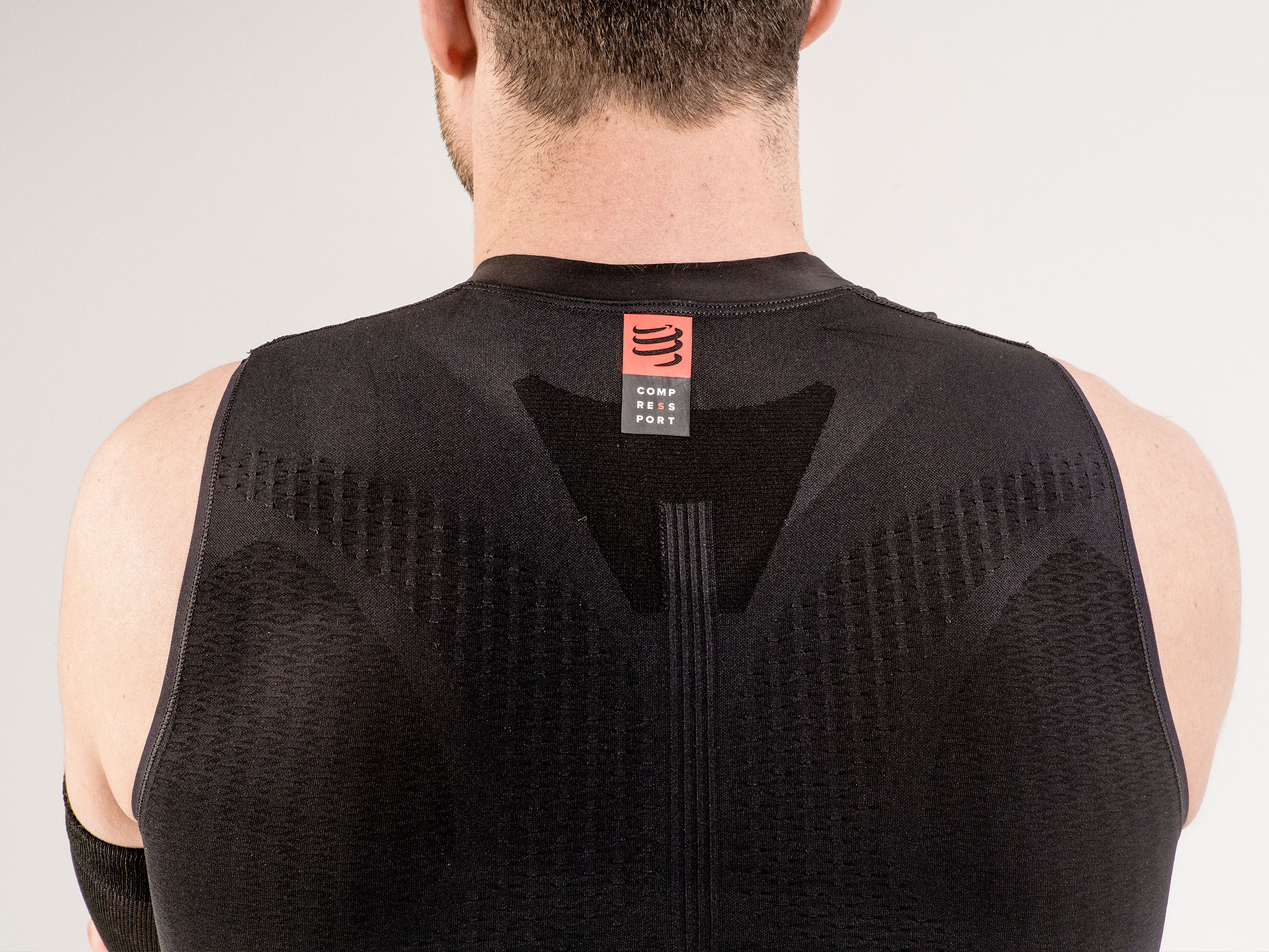 Trail Running Postural Tank Top black
