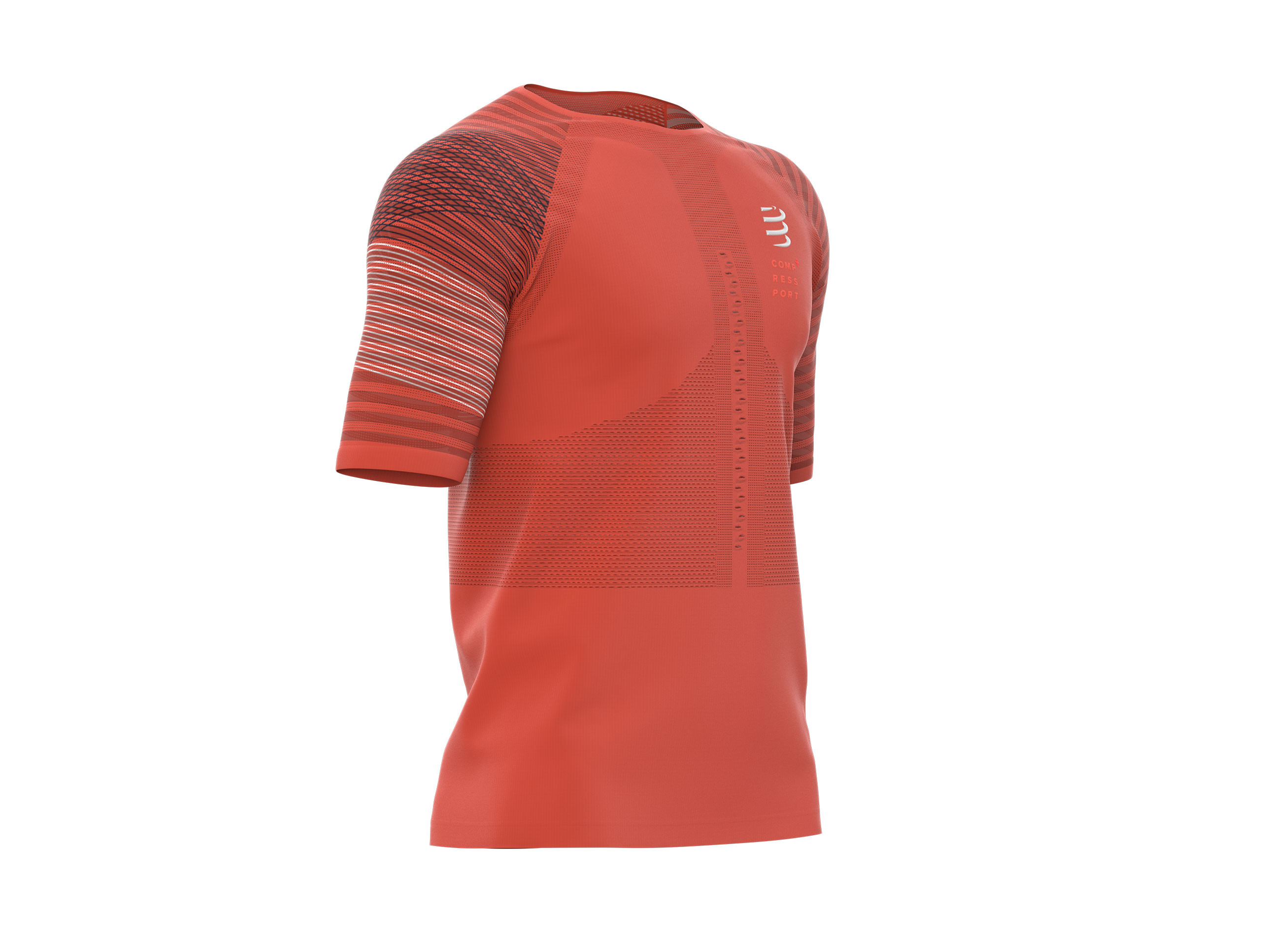 Homme M Tshirt Rouge Compressport Ss Running L 7gb6yyvf Racing LpMSqUzGV