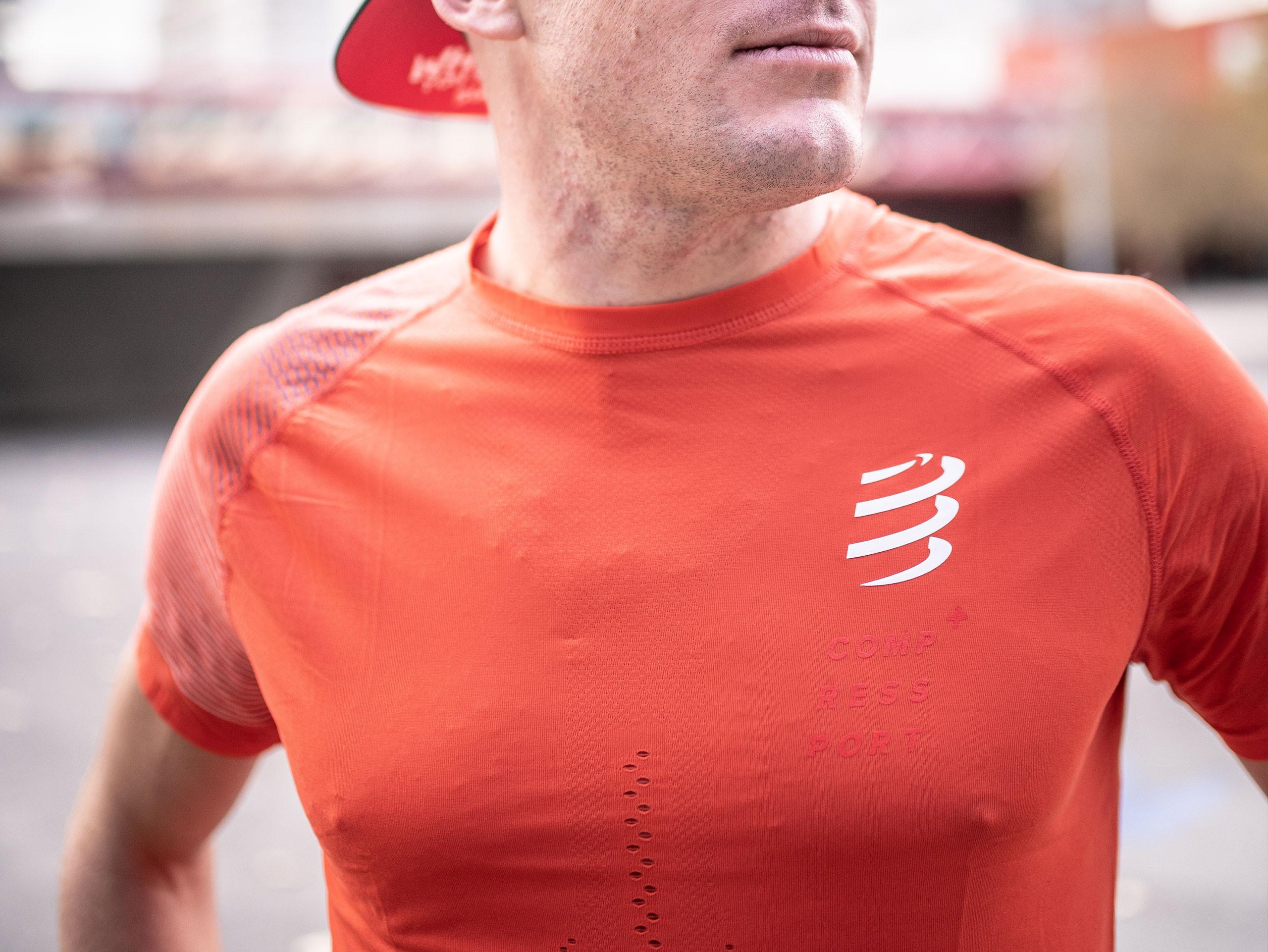 Racing SS Tshirt M BLOOD ORANGE