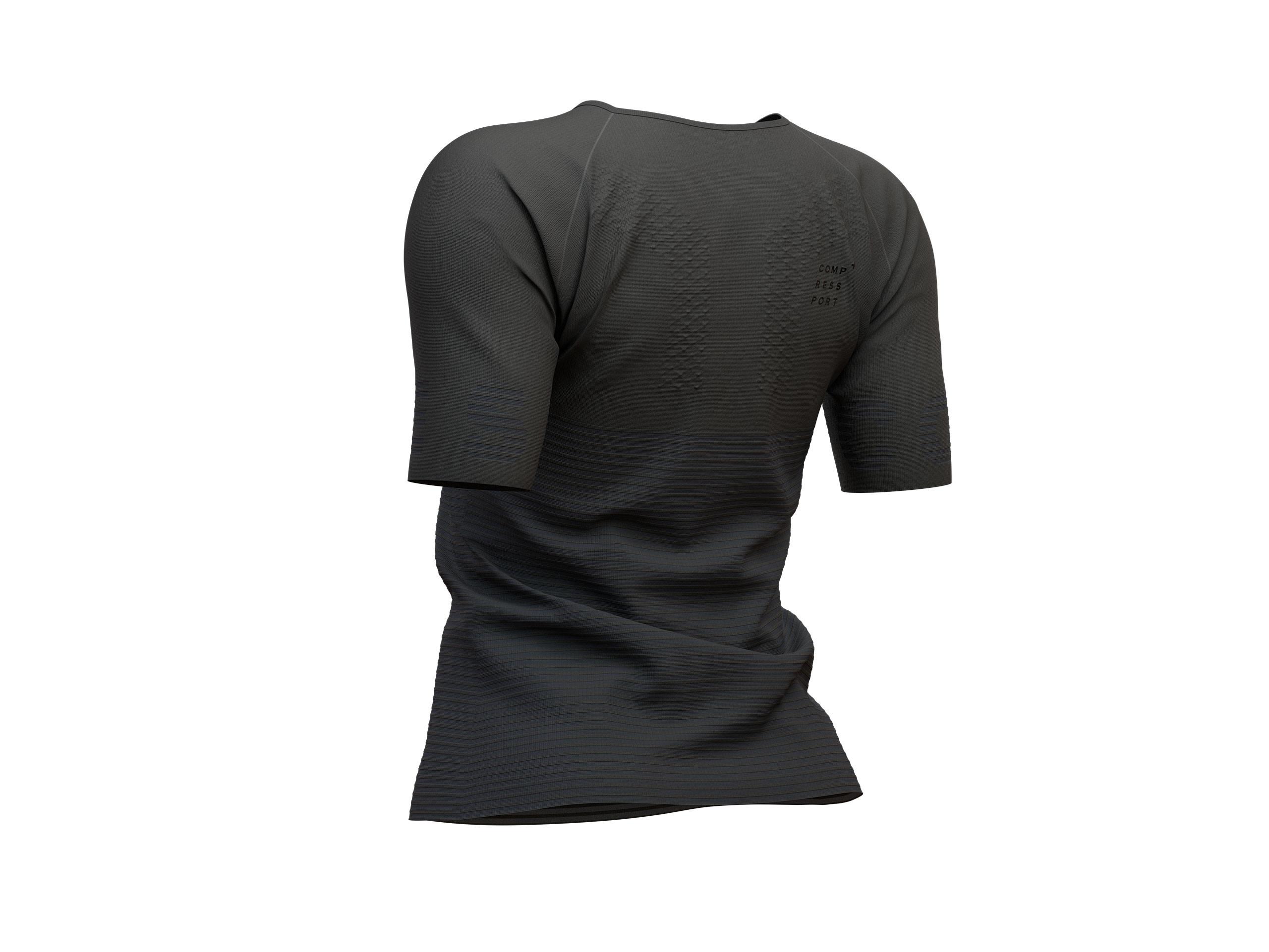 Kurzärmeliges Damen-Trainigsshirt - Black Edition 2019