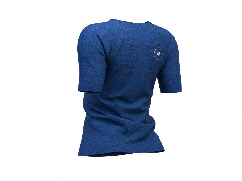 Training Tshirt SS W - Mont Blanc 2019 BLUE