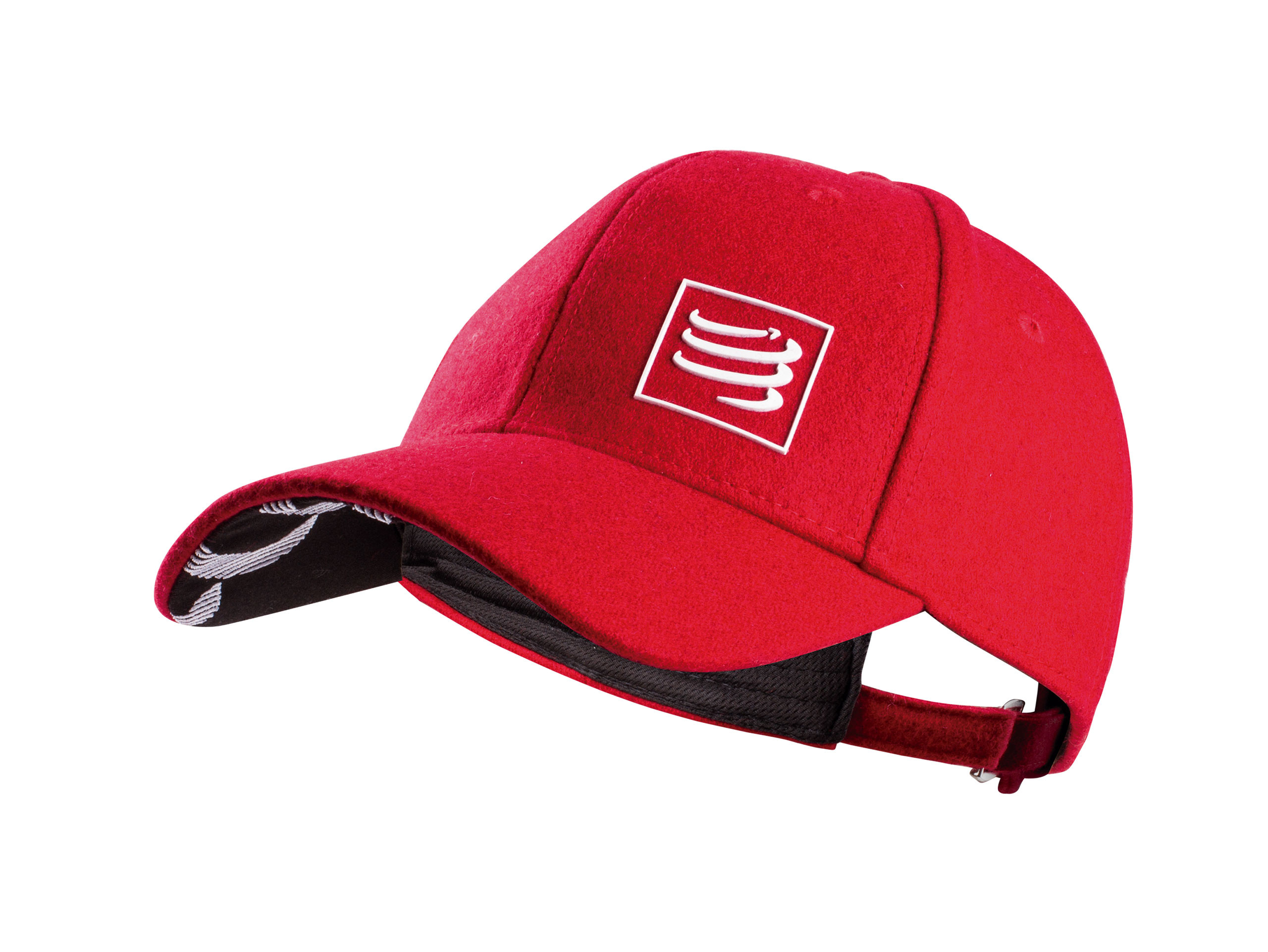 Gorra de lana roja