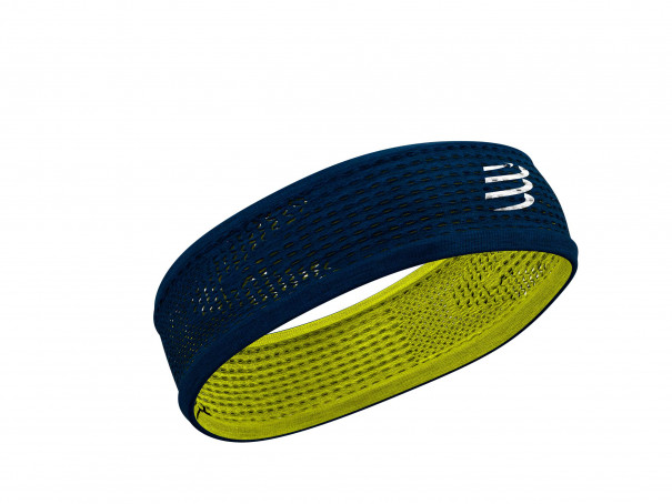 Thin Headband On/Off blau/limonenfarben