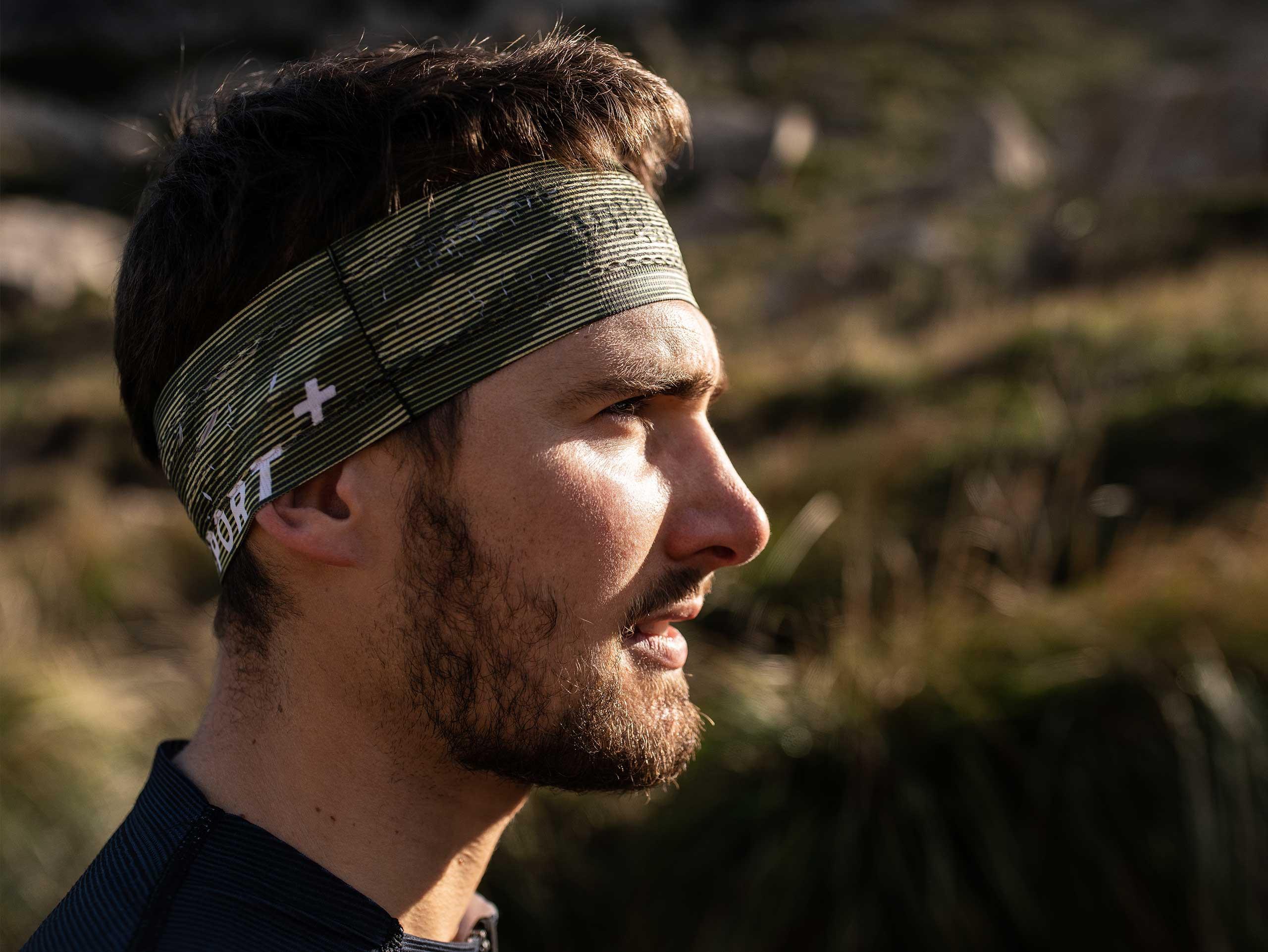 Thin Headband On/Off camo