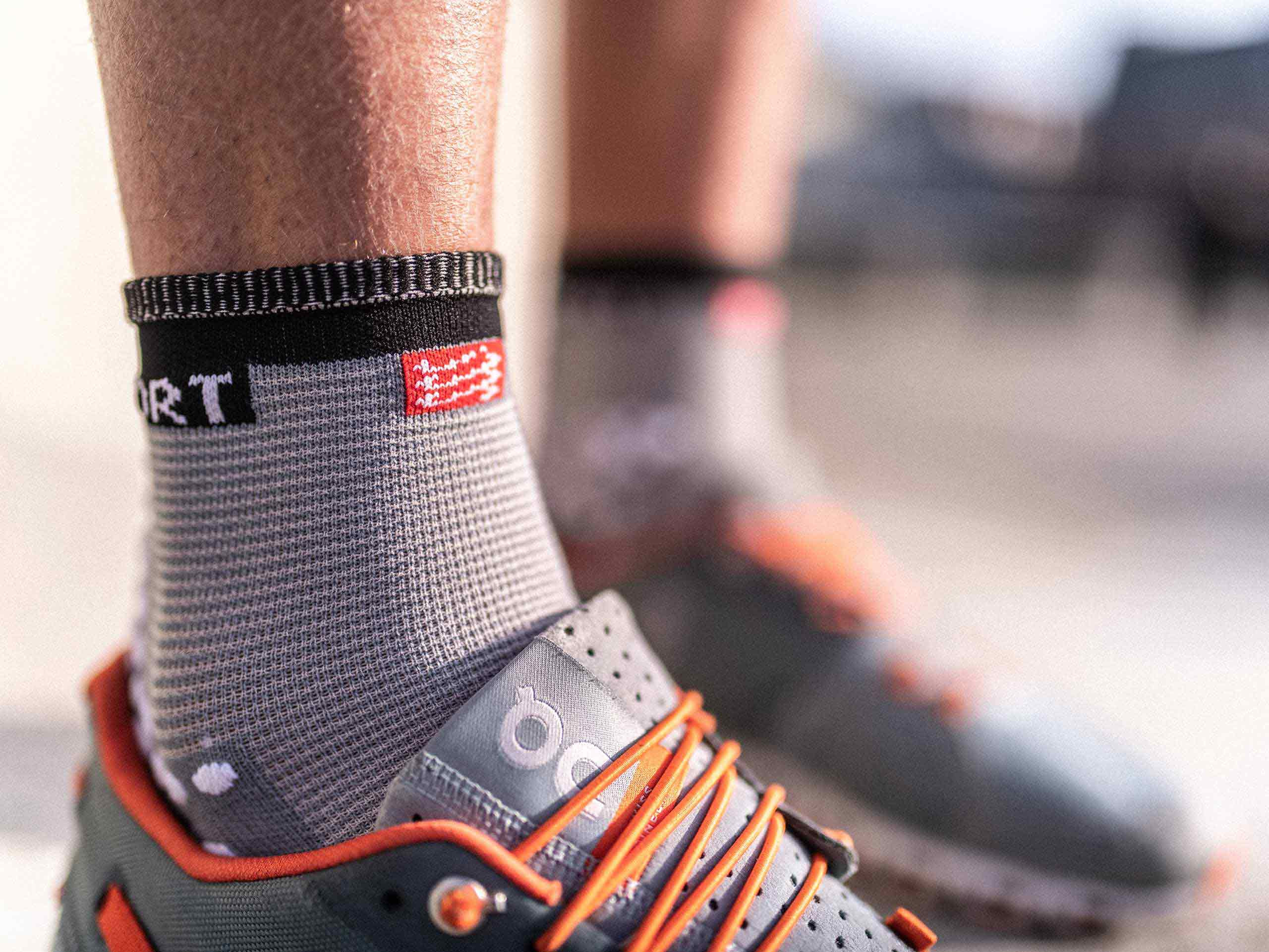 Pro Racing Socks v3.0 Run High grey melange