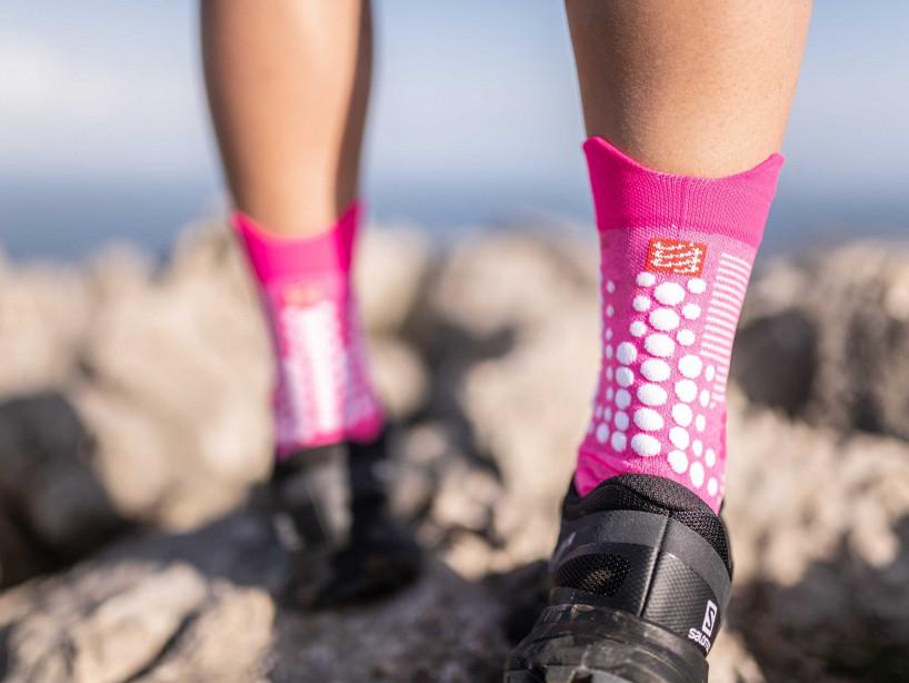 Pro Racing Socks v3.0 Trail Pink-meliert