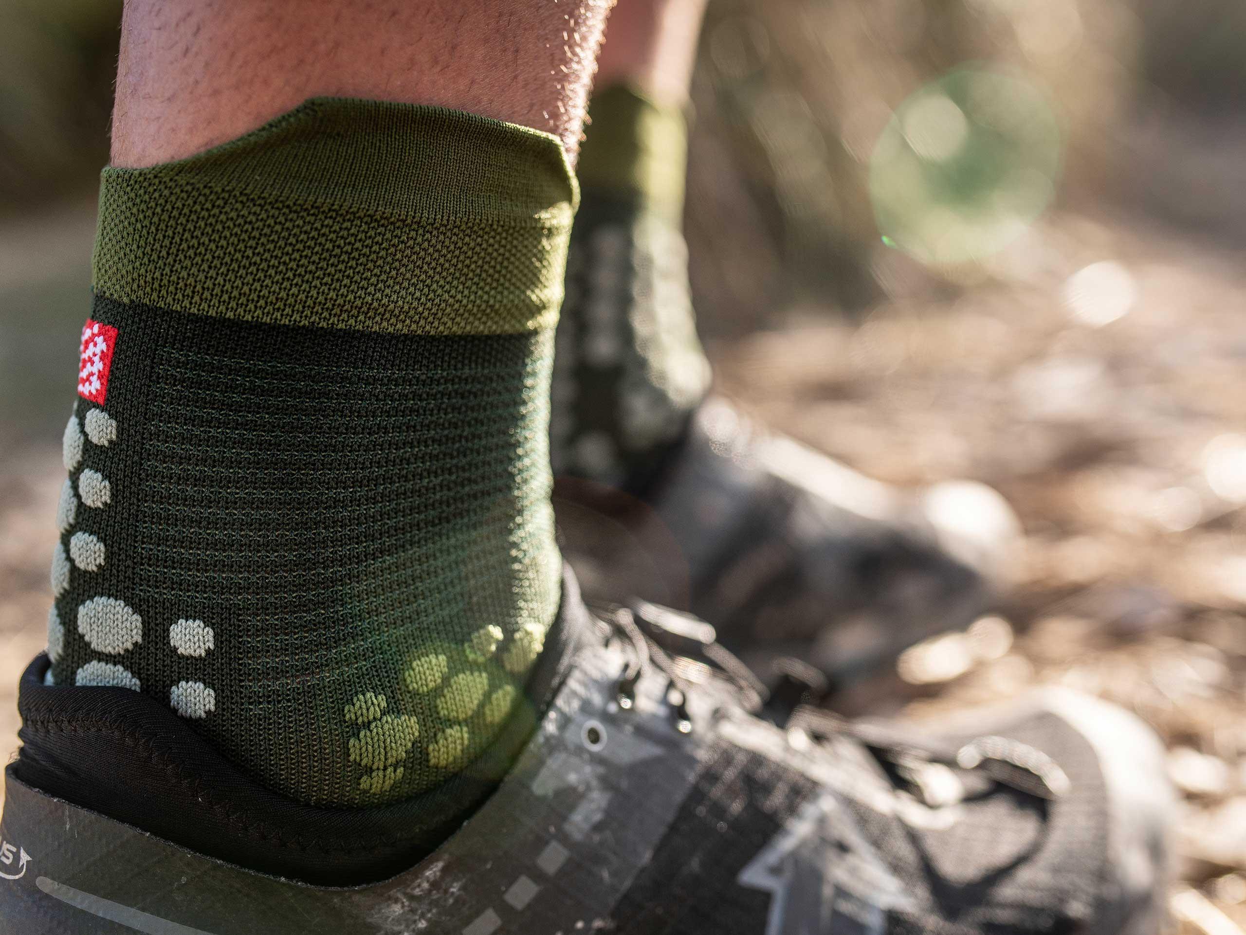 Pro Racing Socks v3.0 Trail vert stealth