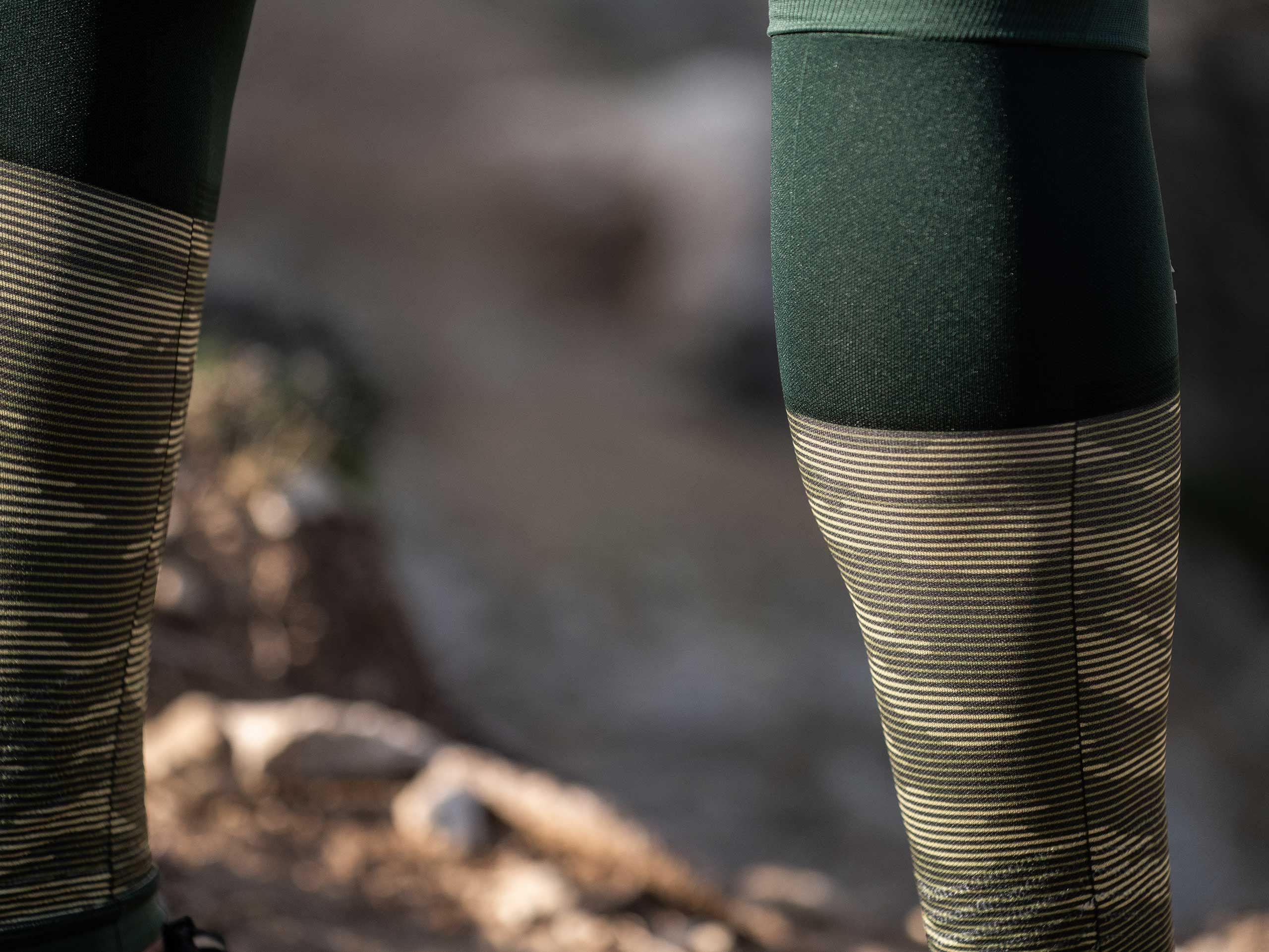 R2v2 manchon compression vert camo