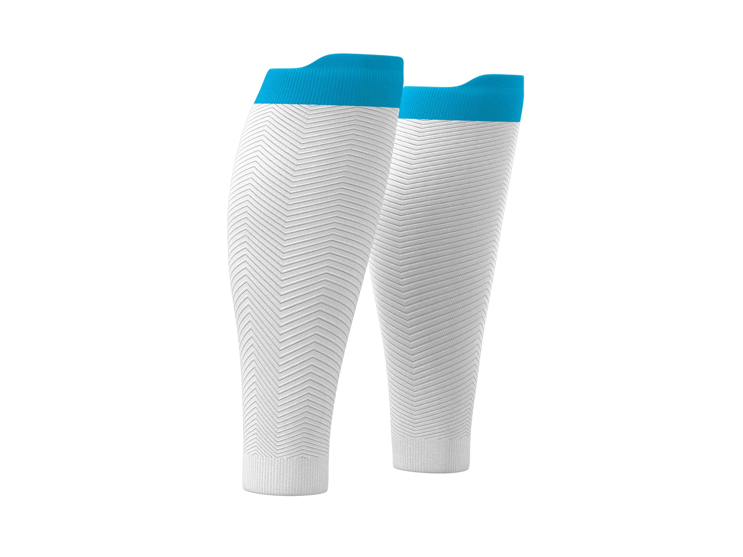 R2 Oxygen calf sleeves white