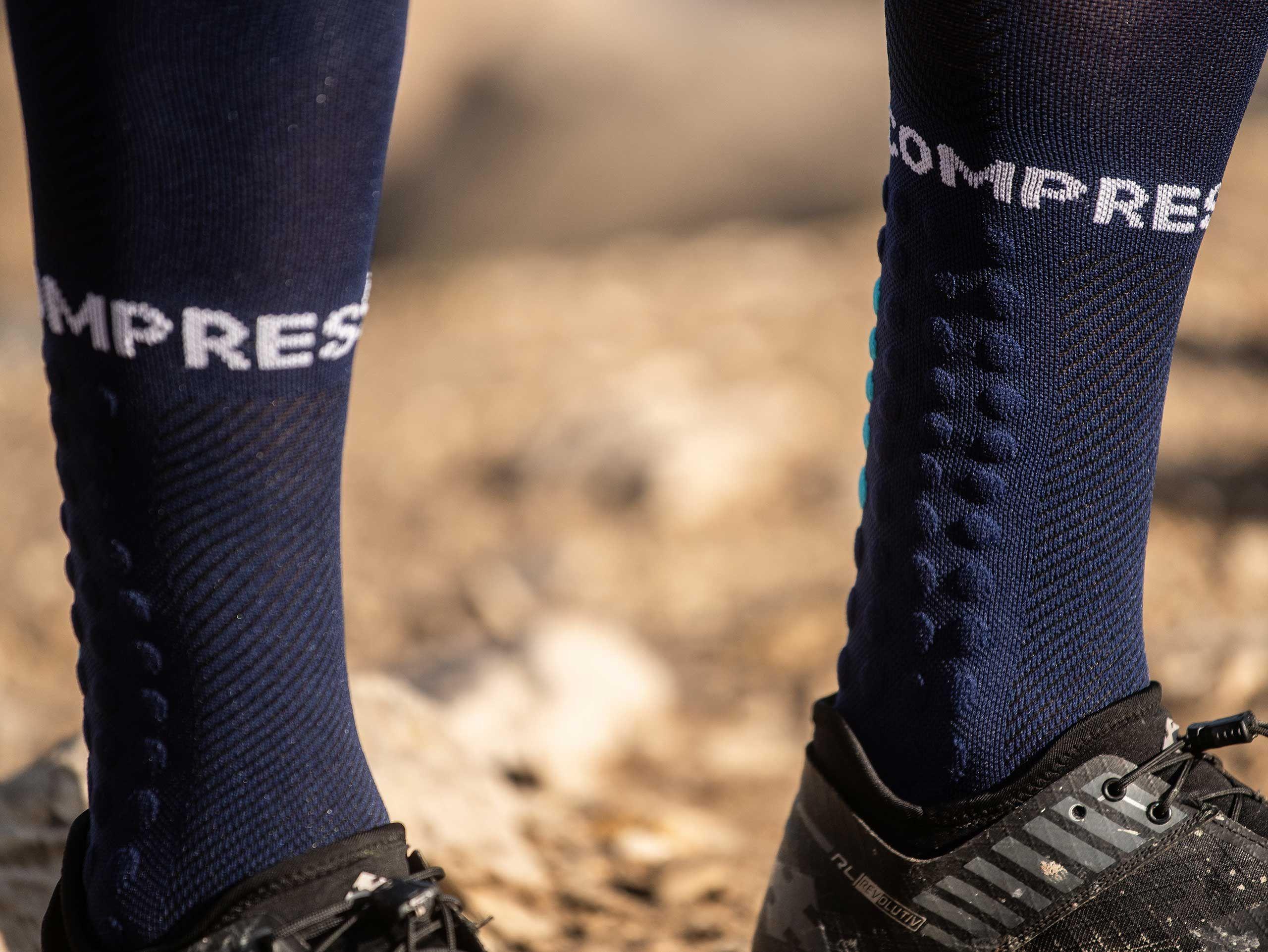 Full Socks Run bleu