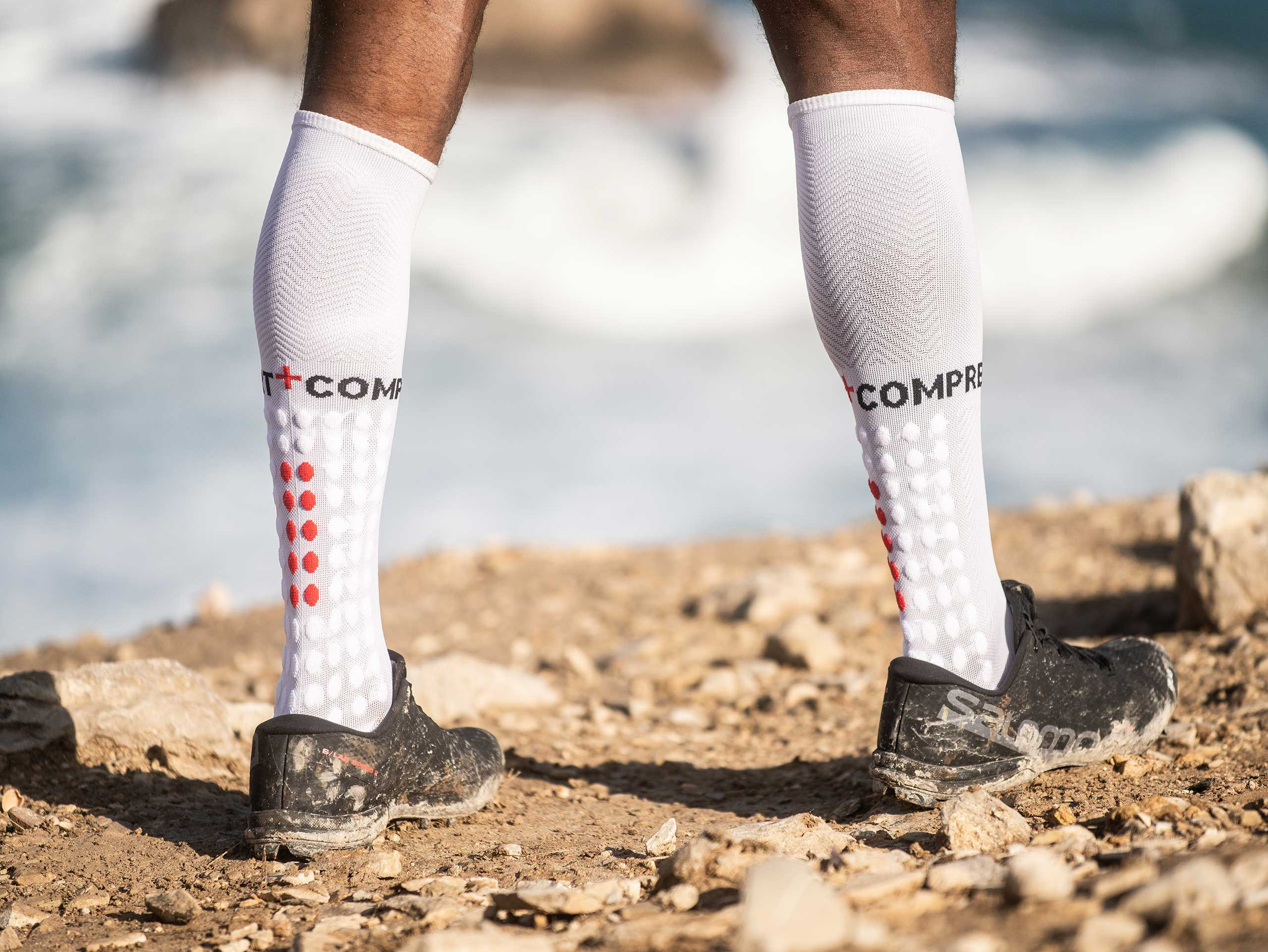 Full Socks Run blanc