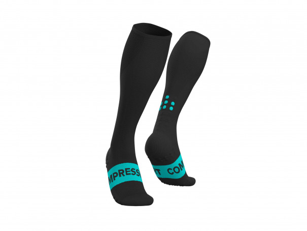 Full Socks Race Oxygen schwarz