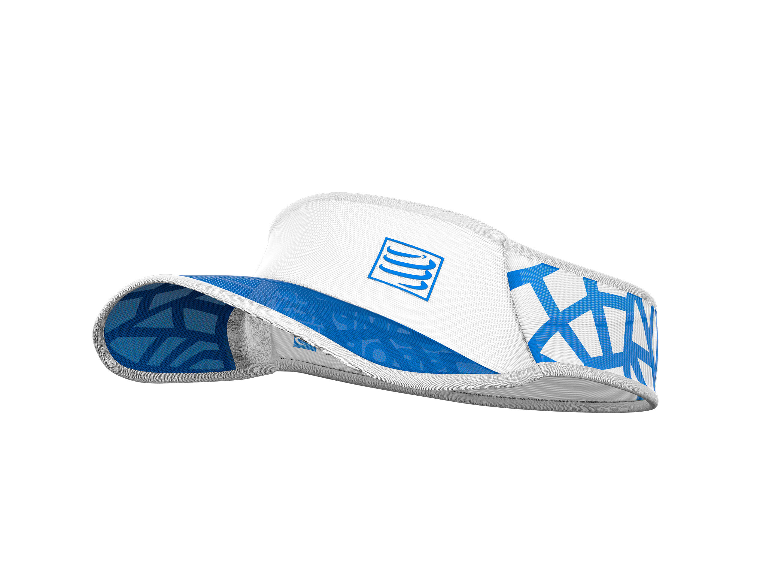 Spiderweb Ultralight Visor weiß/blau