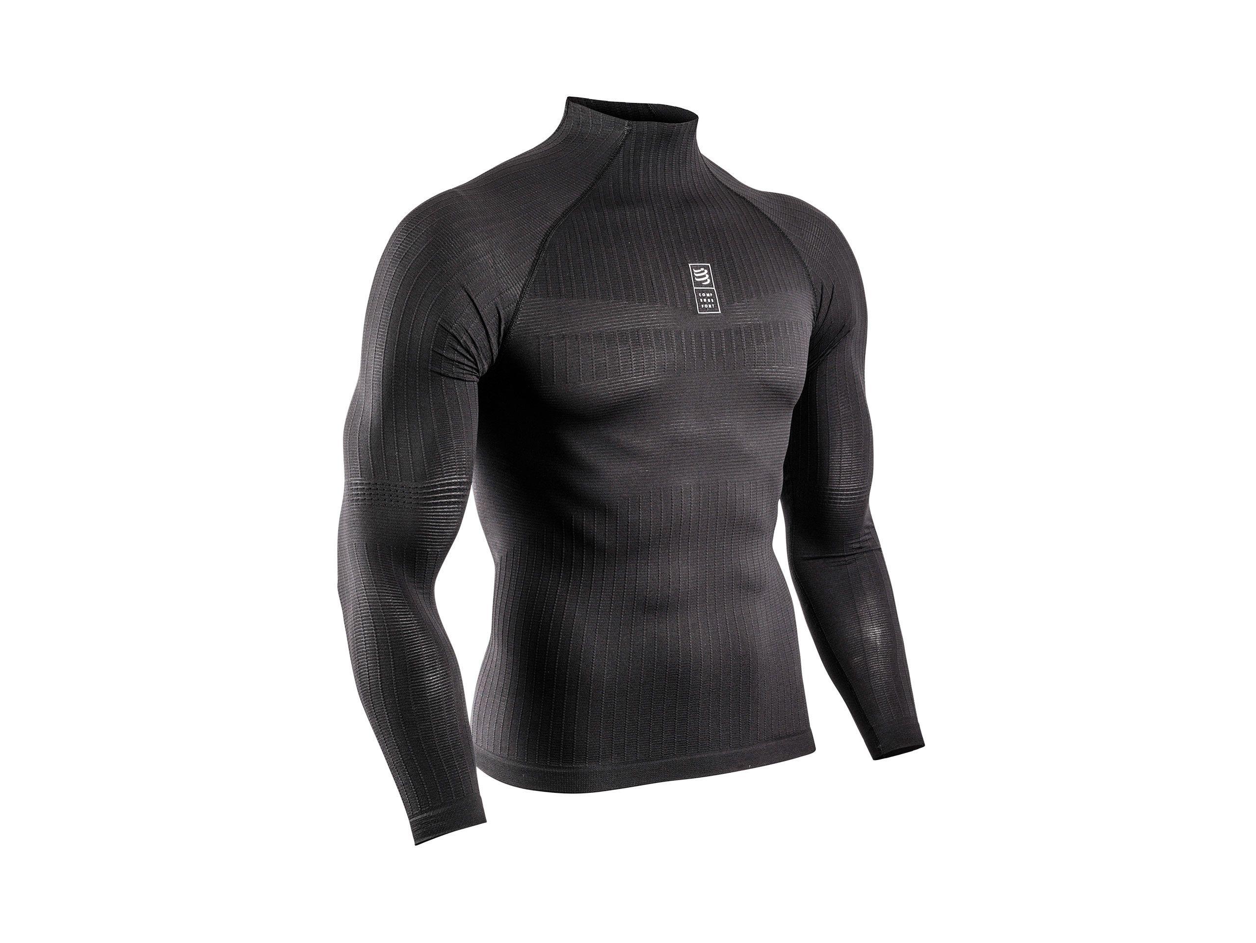 Camiseta 3D thermo 110 g ML negra
