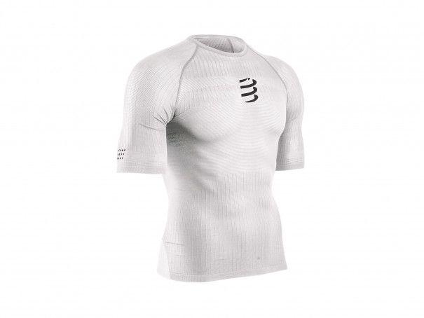 Camiseta 3D thermo 50 g MC blanca