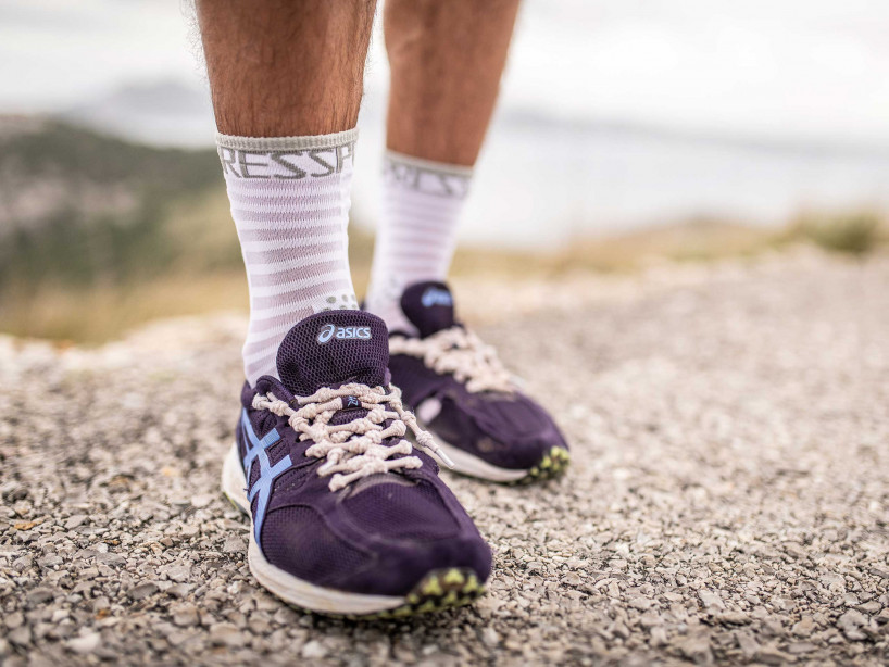 Pro Racing Socks v3.0 Ultralight Run High weiß