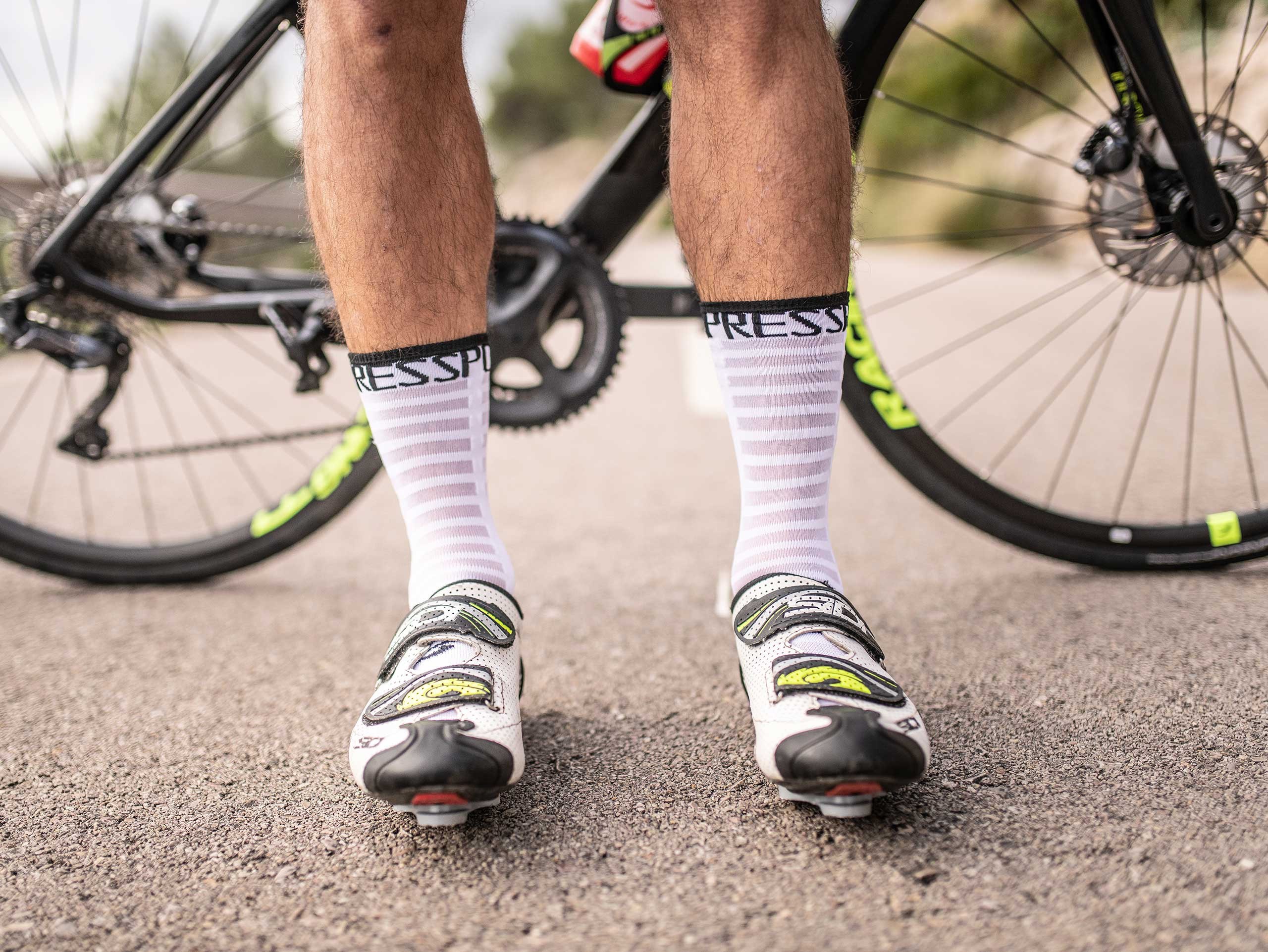 Pro Racing Socks v3.0 Ultralight Bike blanc