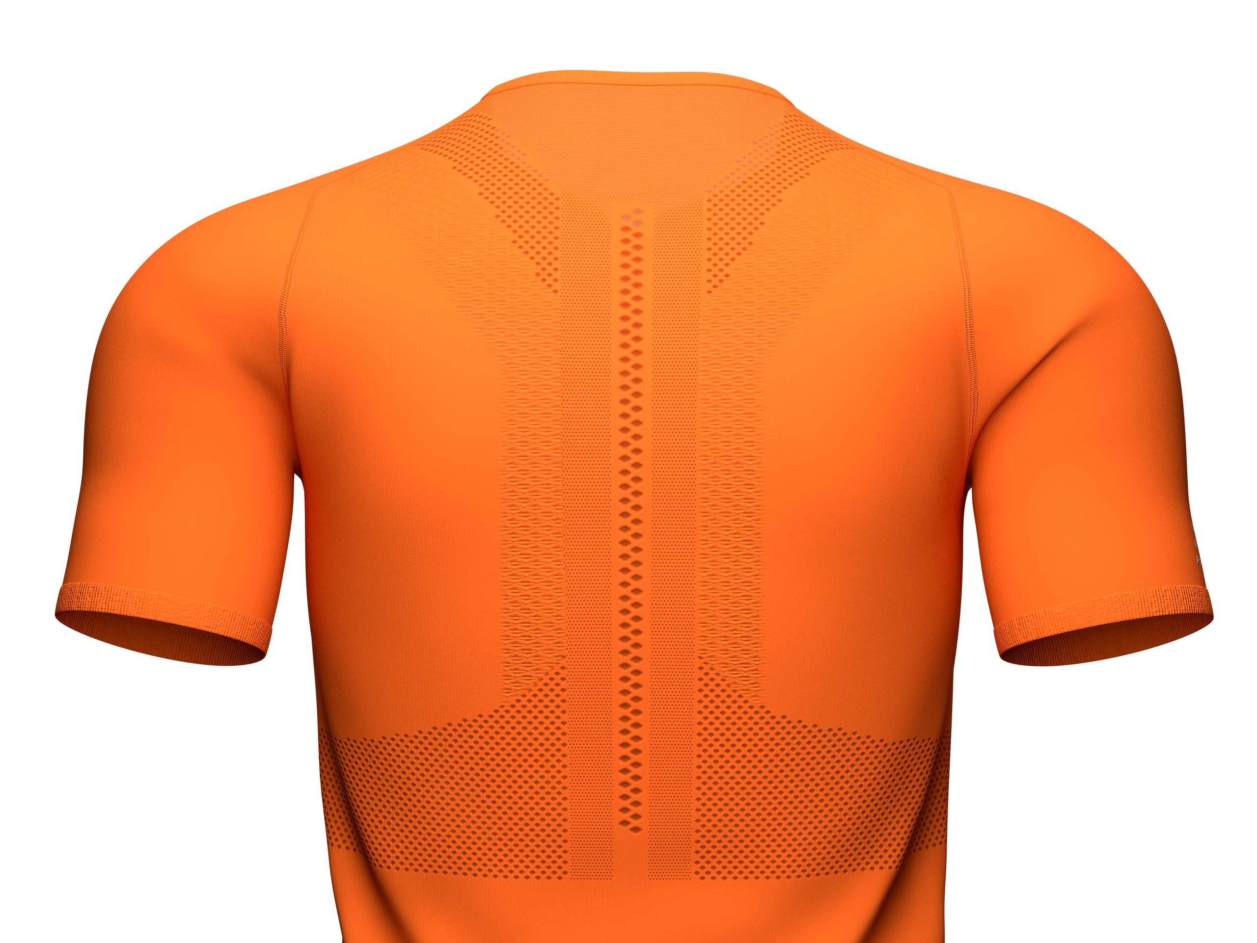 Trail Half-Zip Fitted SS Top curcuma