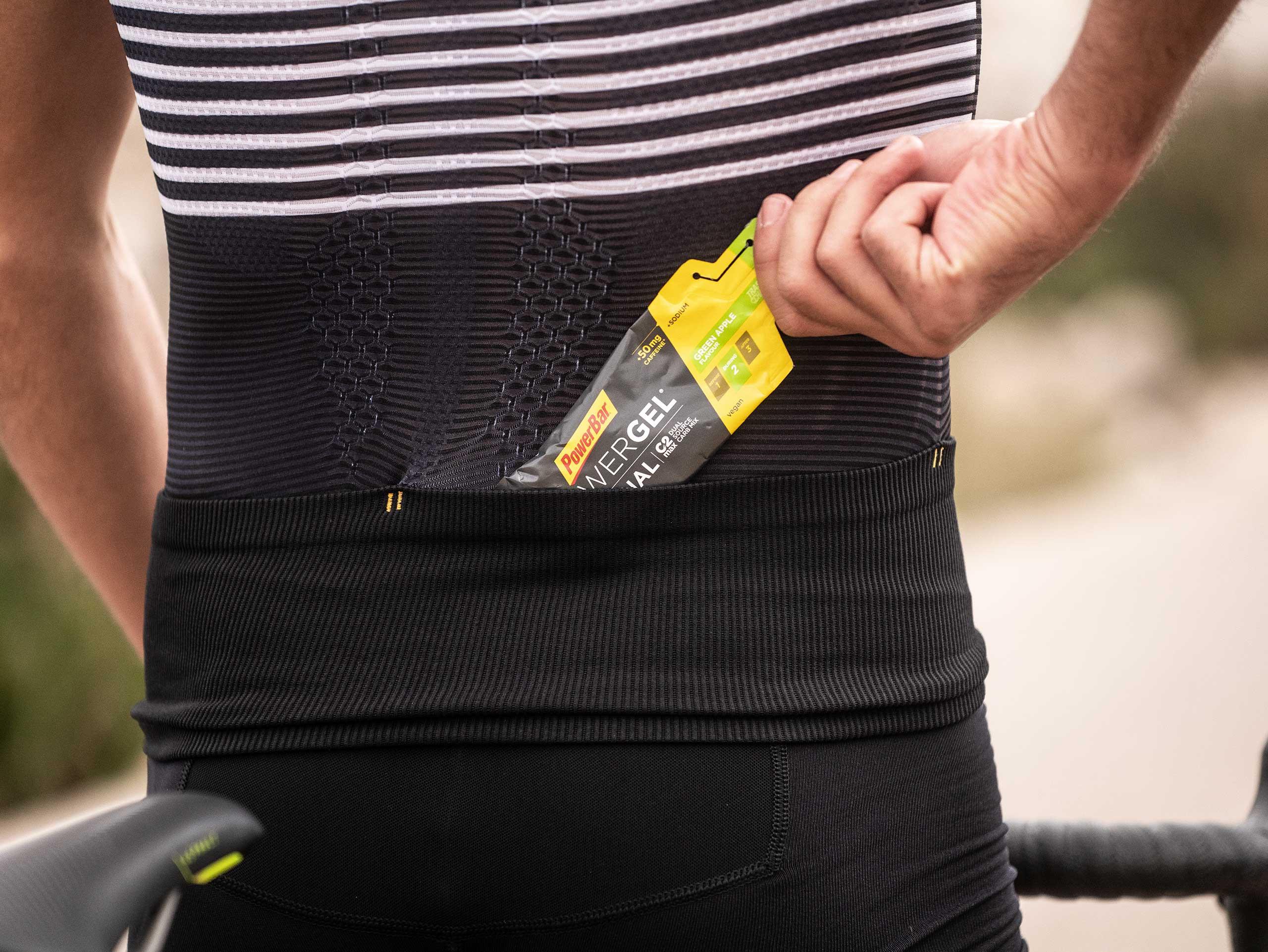 Canotta posturale da triathlon - Nera