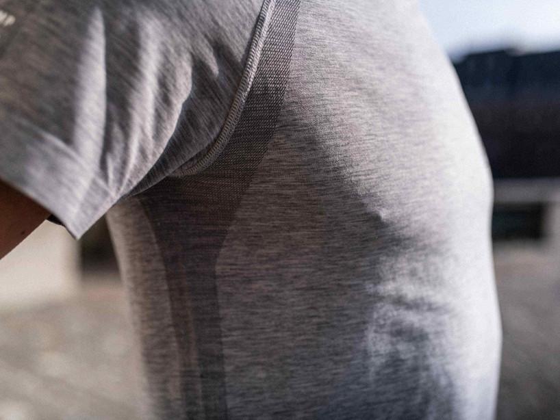 Training SS T-Shirt grau-meliert