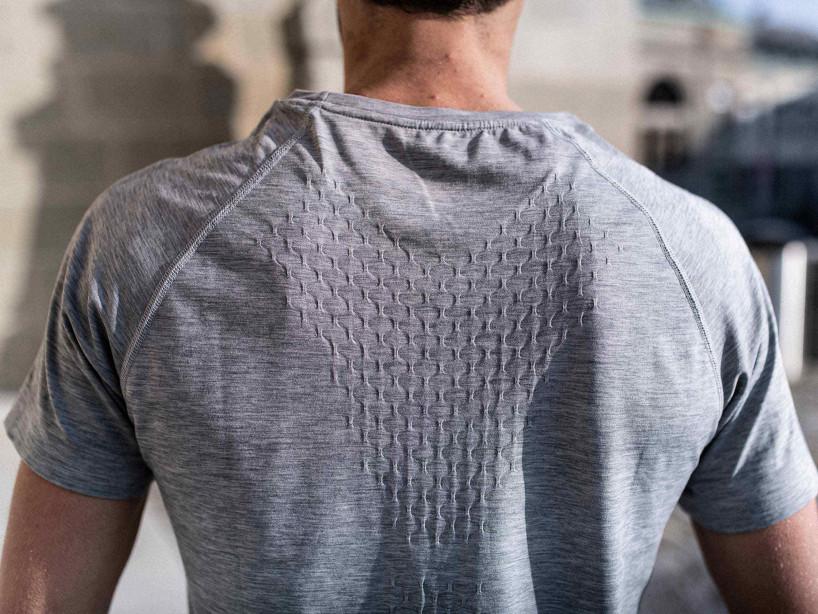Training SS Tshirt gris mélange