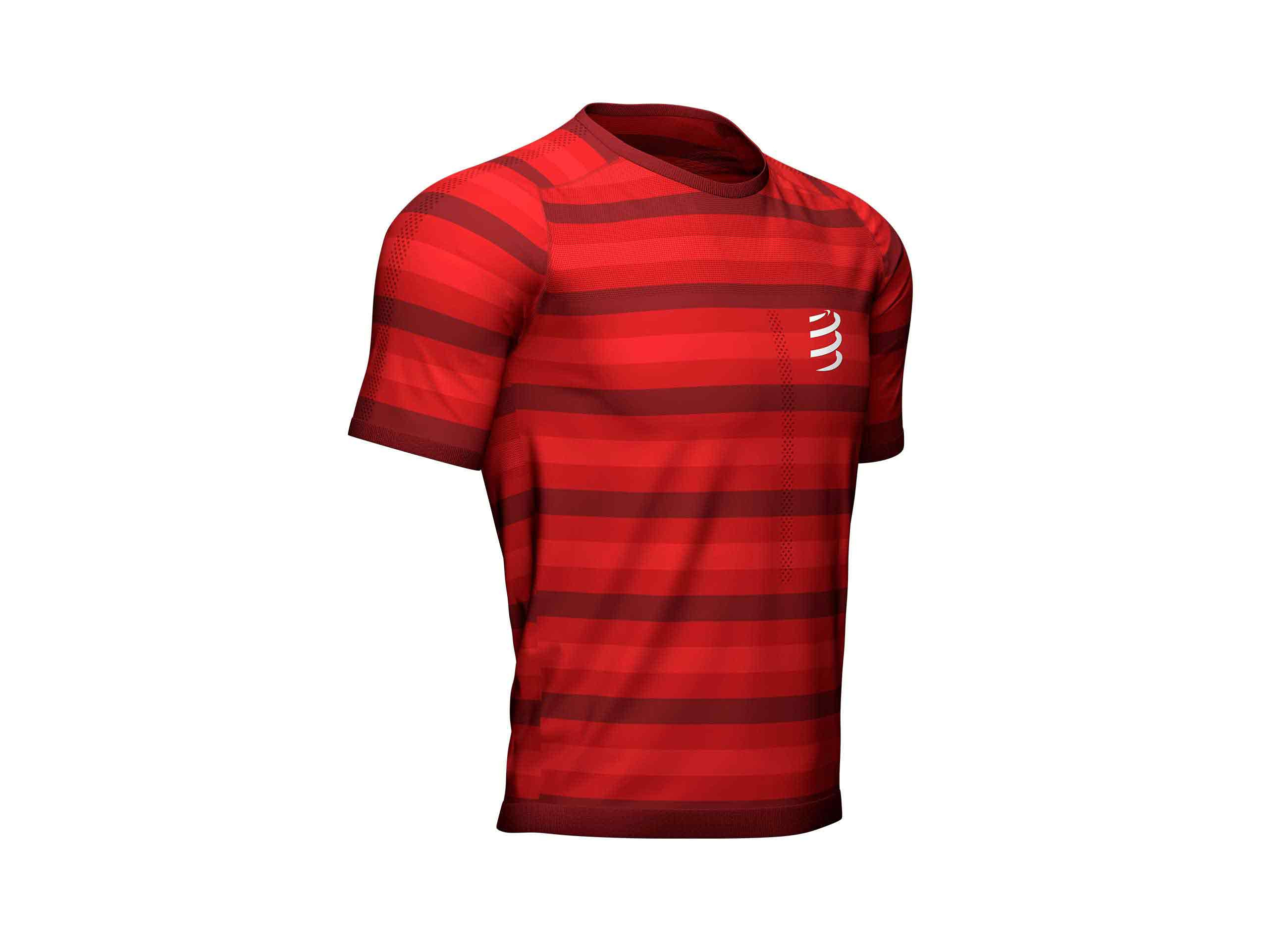 Performance SS Tshirt rouge
