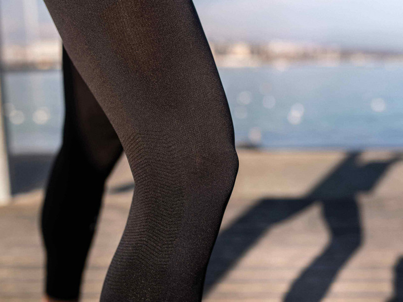 Run Under Control Full Tights schwarz