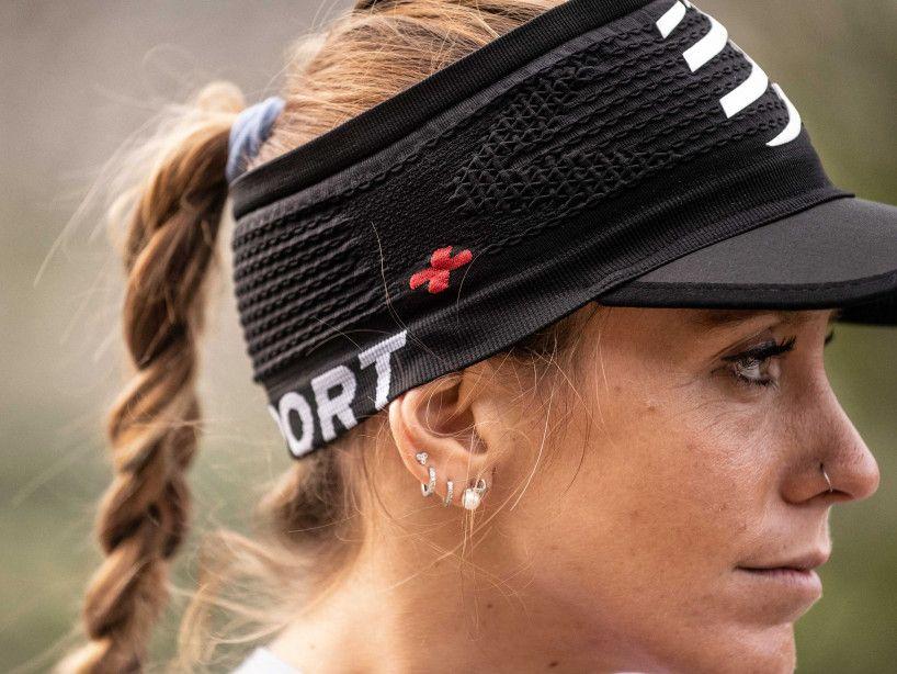 Headband a ragnatela On/Off nera