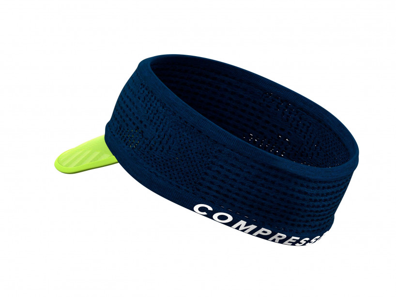 Spiderweb Headband On/Off blau/limonenfarben