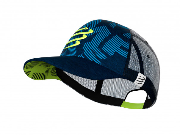Trucker Cap bleu/lime