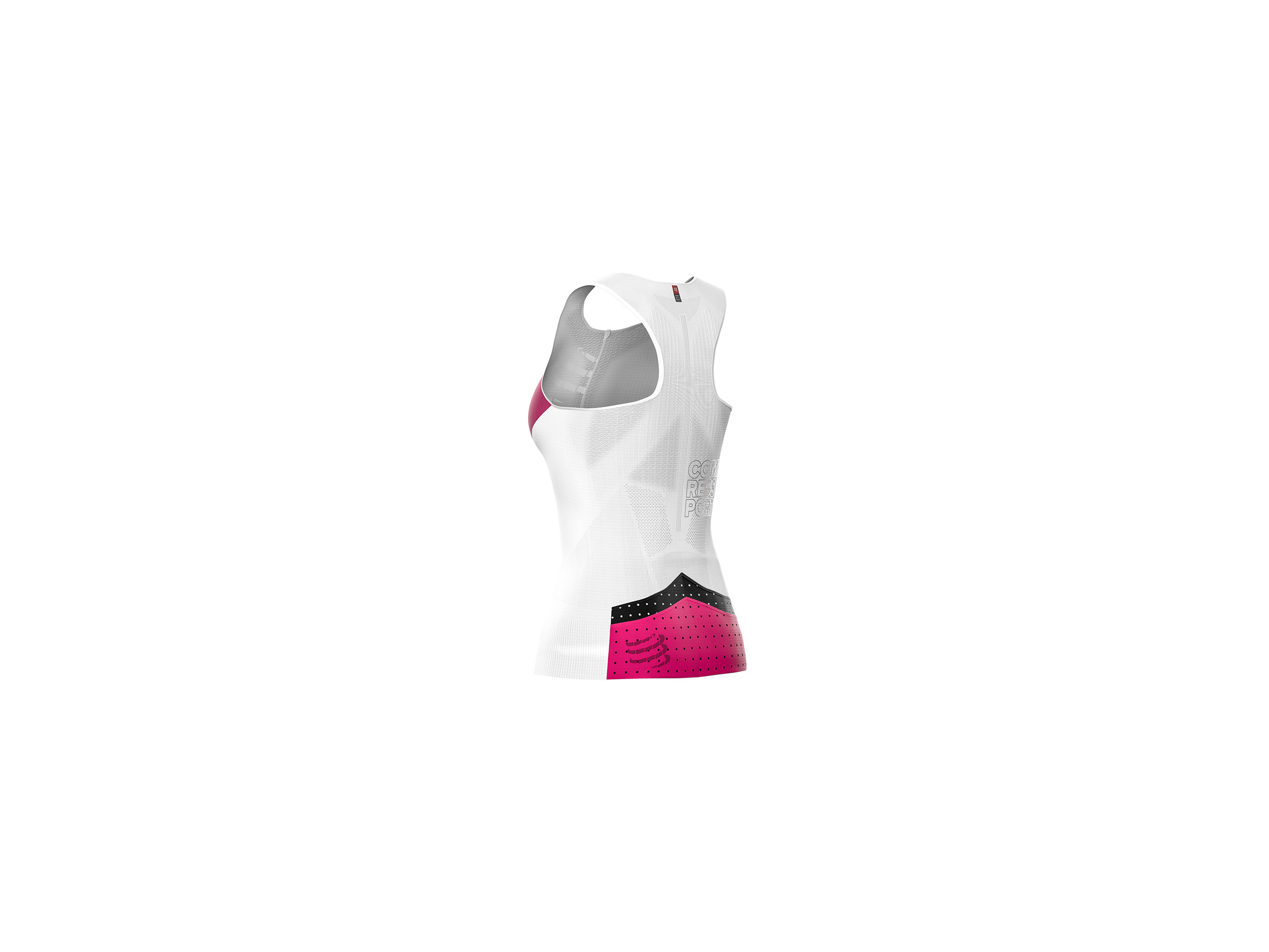 Triathlon Postural Ultra Tank Top W white