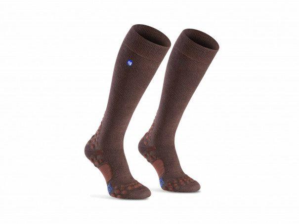 Calcetines de cuidado marrones