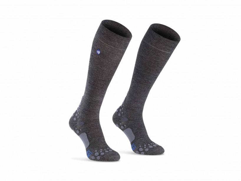 Calcetines de cuidado grises