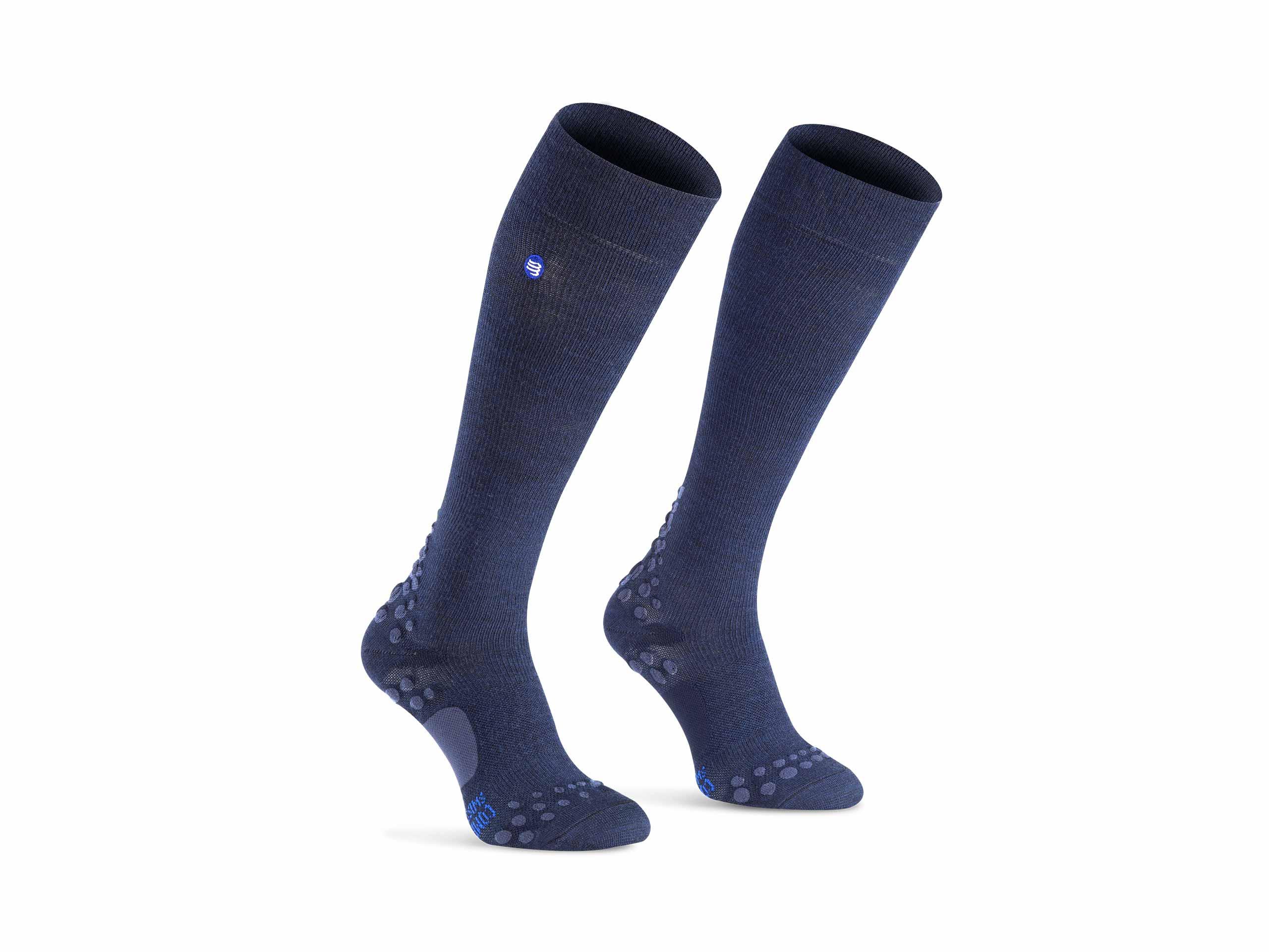 Calcetines de cuidado azul marino