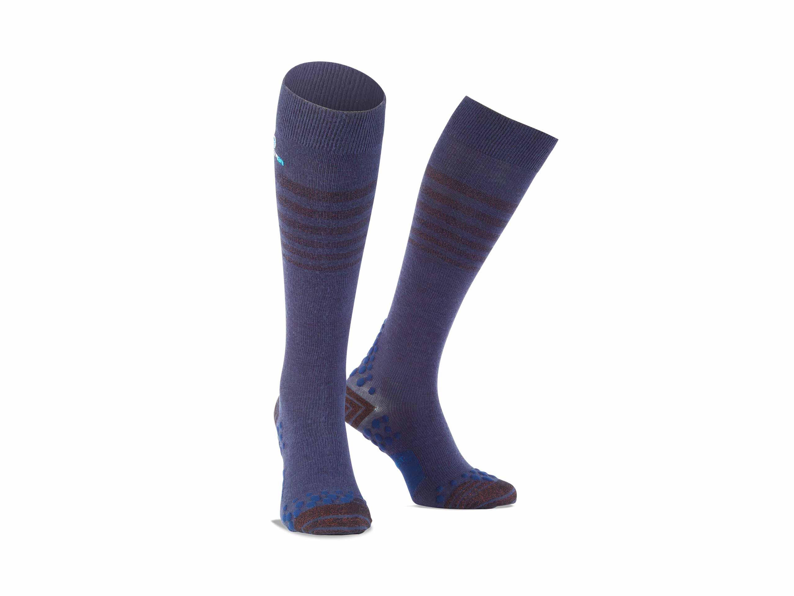 Copper socks navy