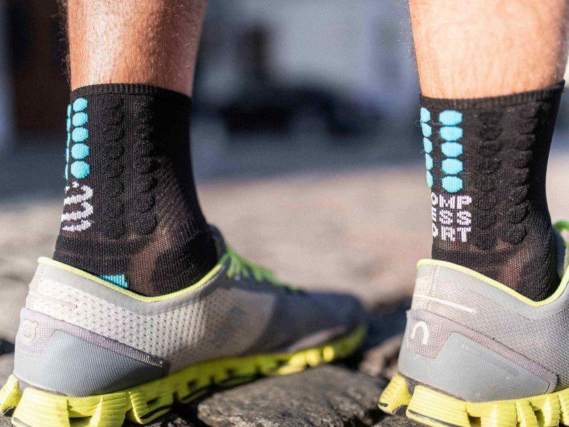 Calze professionali da maratona nere