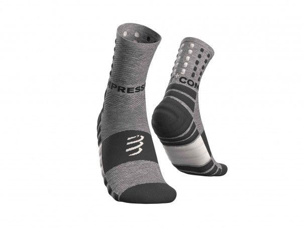 Calcetines amortiguadores gris jaspeado