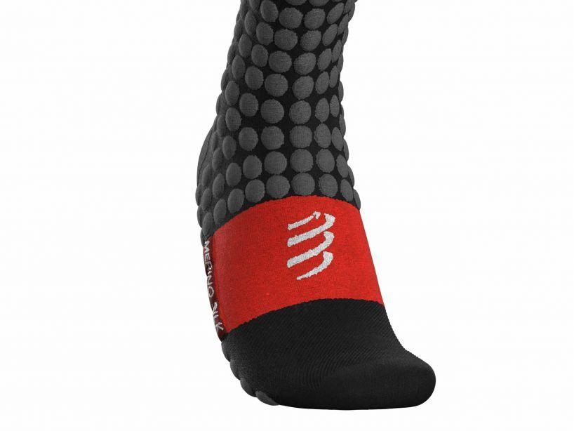 Ski Touring Full Socks BLACK/GREY