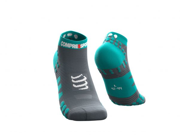 Pro racing socks v3.0 run low bleu du nil