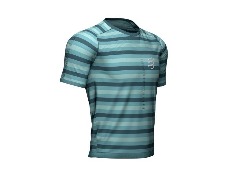 Performance ss tshirt bleu du nil