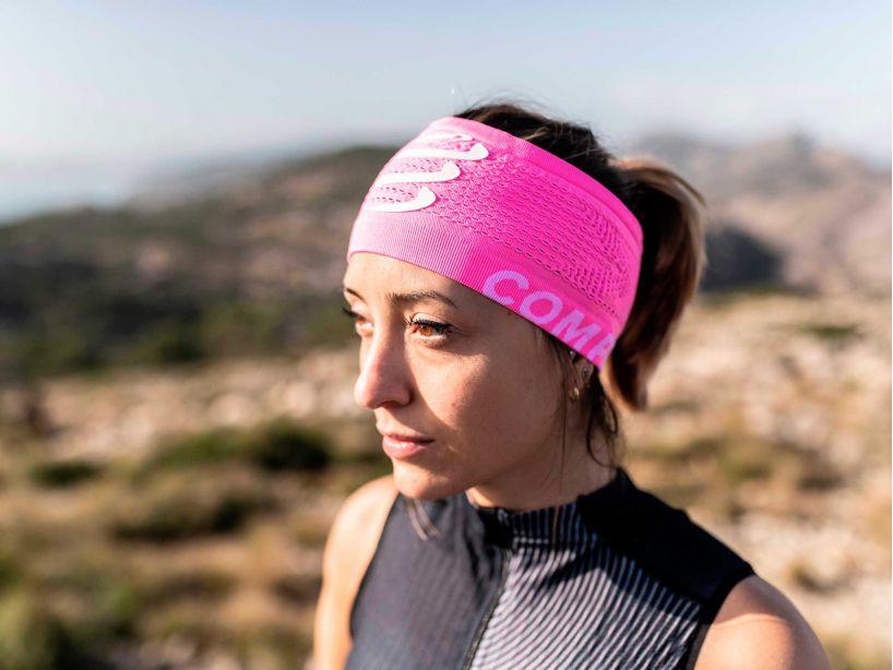 Headband On/Off pink