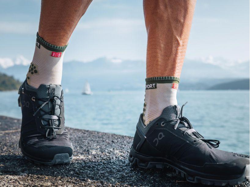 Pro Racing Socks v3.0 Run High - Dusty Olive