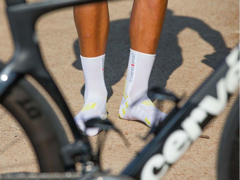 Pro Racing Socks v3.0 Bike WHITE/LIME