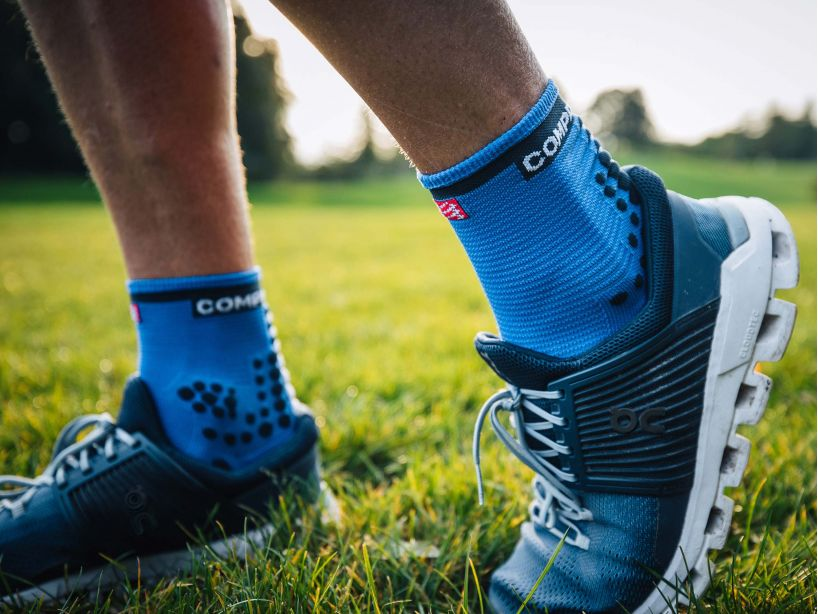 Pro Racing Socks v3.0 Run High BLUE LOLITE