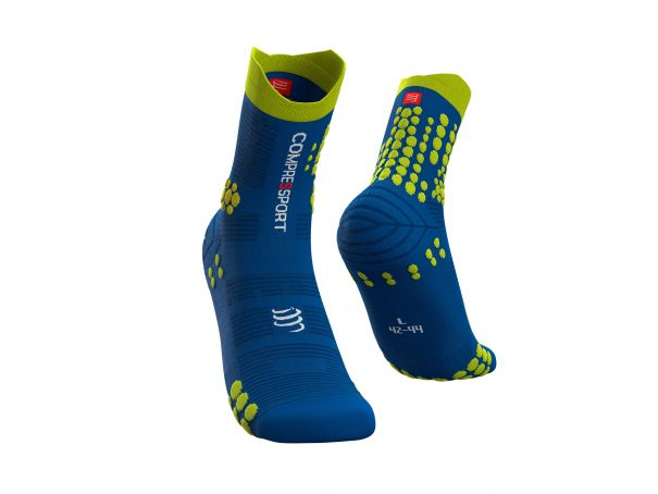Pro Racing Socks v3.0 Trail BLUE LOLITE/LIME