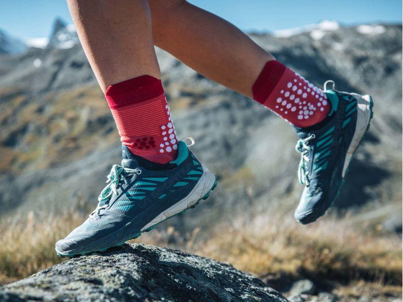 Pro Racing Socks v3.0 Trail GARNET ROSE