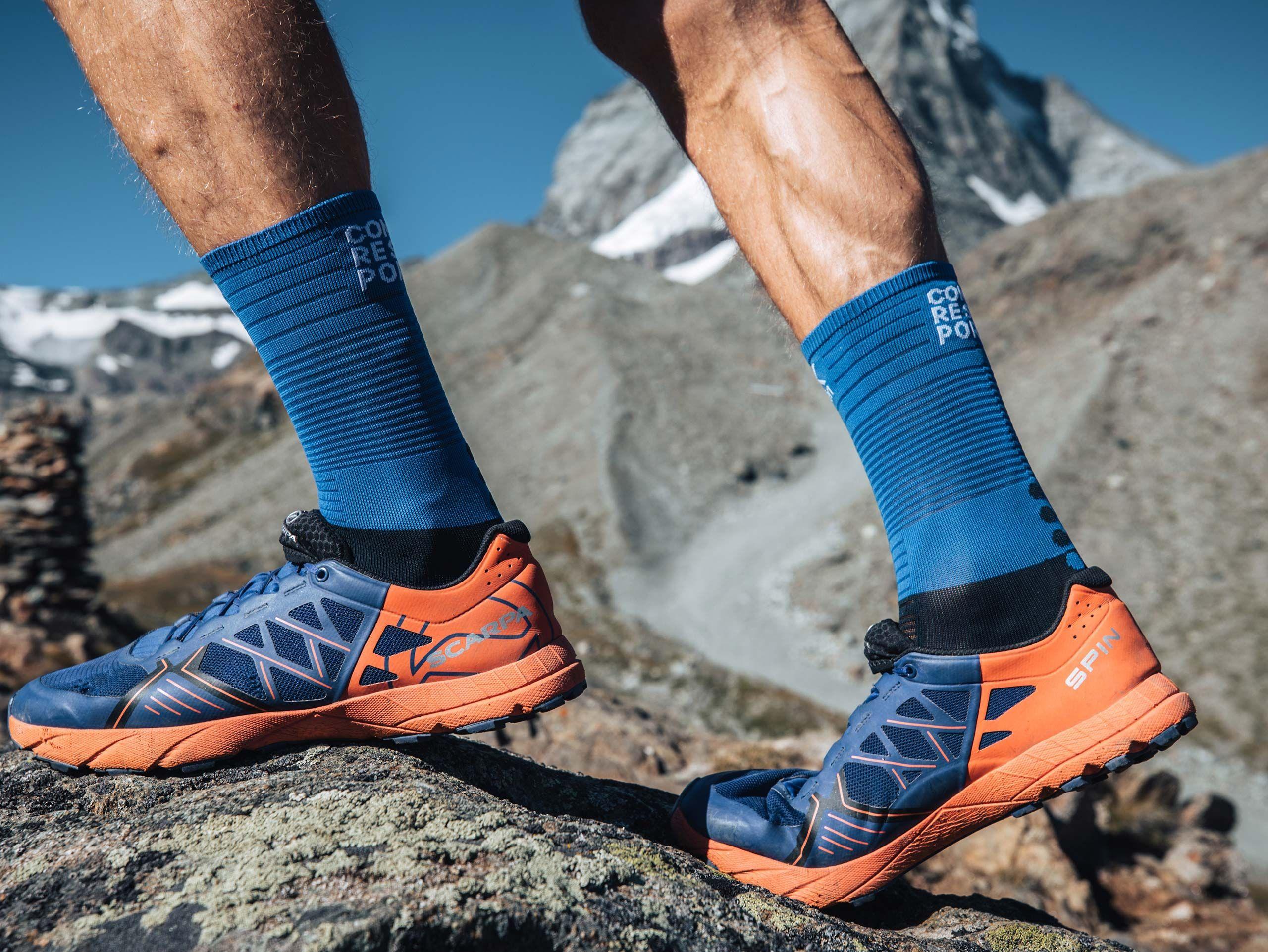 Mid Compression Socks BLUE LOLITE