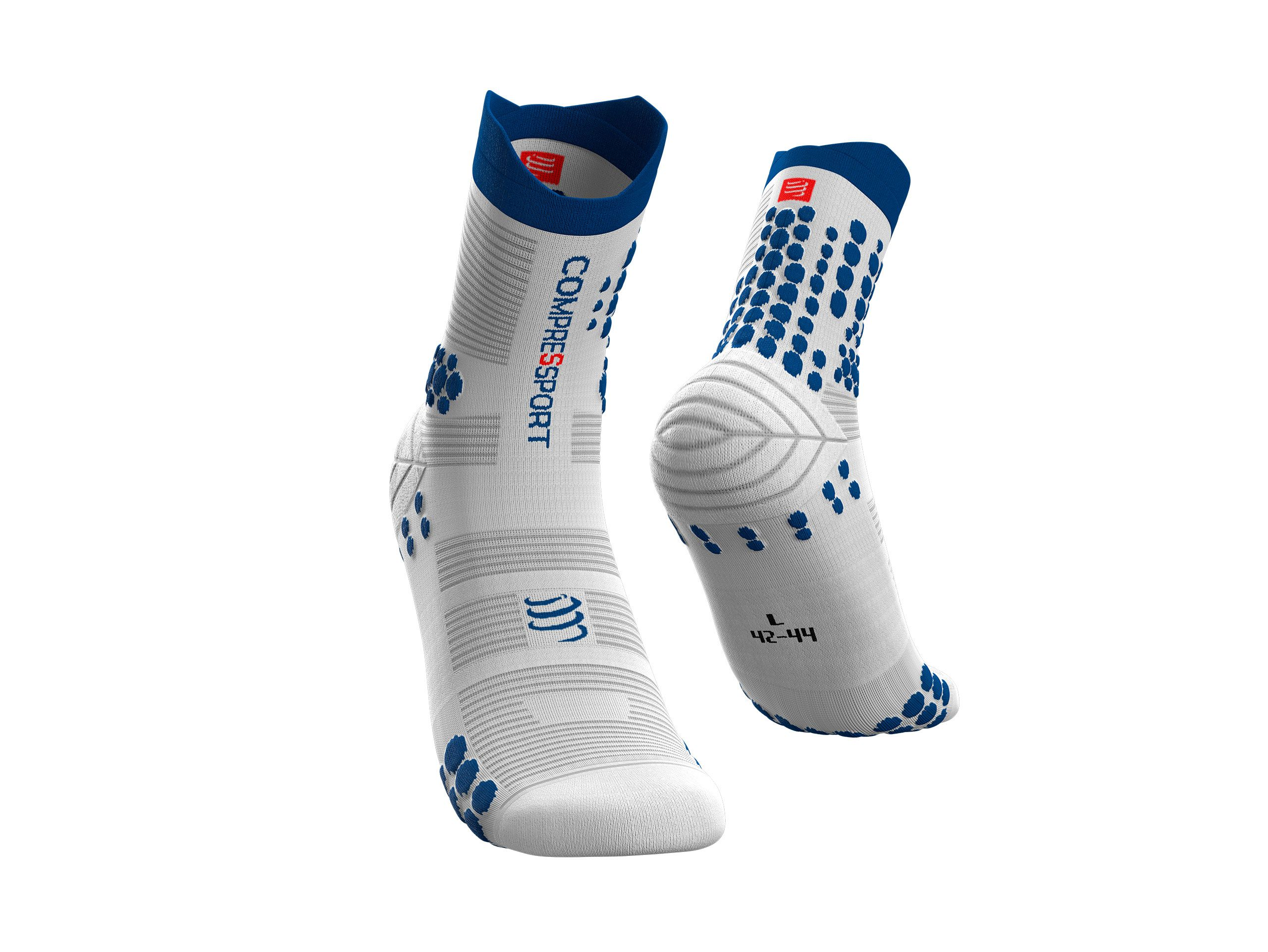 Pro Racing Socks v3.0 Trail - Blanc-Lolite